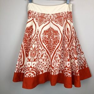 Anthropologie edme & esyllte Wilderness Maze Skirt